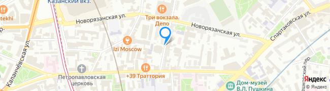 переулок Басманный 1-й