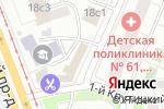 Схема проезда до компании МАБ Темпбанк в Москве