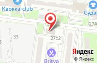 Схема проезда до компании Панойл в Москве