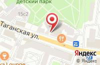 Схема проезда до компании Интегрософт в Москве