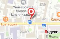 Схема проезда до компании Металлтрейдинг в Москве