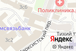Схема проезда до компании Орбис Солюшнс в Москве