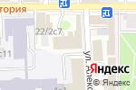 Схема проезда до компании Мосстройреставрация в Москве