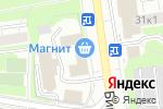 Схема проезда до компании Магазин нижнего белья на Бирюлёвской в Москве