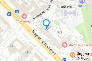 Сдается комната в трехкомнатной квартире в Москве м. Марксистская, Марксистская улица, 5с1