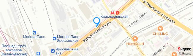 Краснопрудная улица