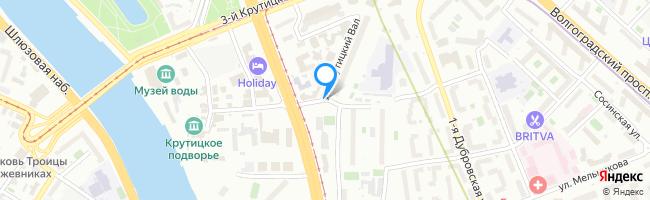 переулок Крутицкий 1-й