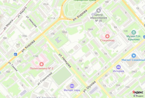 жилой комплекс по ул. Немцова, 5а