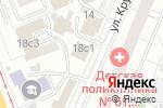 Схема проезда до компании Управление Федеральной службы судебных приставов по Москве в Москве