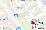 Схема проезда до компании Радуга в Москве