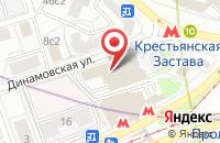 Схема проезда до компании Химия и Бизнес в Москве