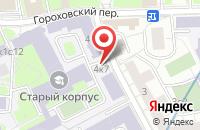 Схема проезда до компании Регионпромстрой в Москве