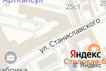 Схема проезда до компании Аллерган в Москве