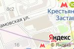 Схема проезда до компании Переплетчик в Москве