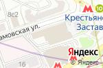 Схема проезда до компании Комлинк Сервис в Москве