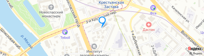 переулок Крутицкий 2-й