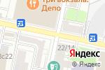 Схема проезда до компании Санкт-Петербургская школа красоты Эколь в Москве