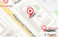 Схема проезда до компании Экокомплекс в Москве