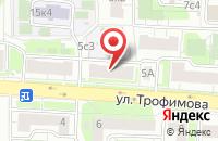 Схема проезда до компании Элегант-Люкс в Москве