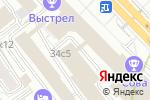 Схема проезда до компании Дива люкс в Москве
