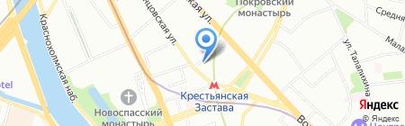 PC Week на карте Москвы