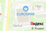 Схема проезда до компании Контраст в Москве