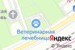 Схема проезда до компании Ветеринарная аптека в Москве