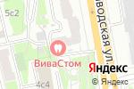 Схема проезда до компании Мерный лоскут в Москве