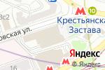 Схема проезда до компании Бух-Финанс в Москве