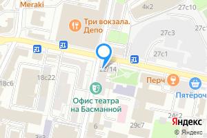 Сдается однокомнатная квартира в Москве 1-й Басманный пер., 5\u002F20с1