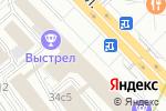 Схема проезда до компании Mitsubishi на Таганке Аванта в Москве