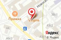 Схема проезда до компании Олимпик в Москве