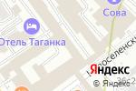 Схема проезда до компании ЭнергоСеть в Москве