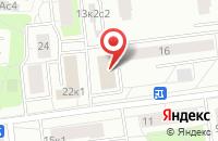 Схема проезда до компании Аксиан в Москве