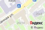 Схема проезда до компании The puff в Москве