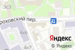 Схема проезда до компании Сакта в Москве
