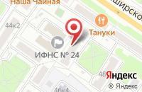 Схема проезда до компании НормаПроект в Москве