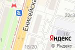 Схема проезда до компании Нотариус Маланина Е.И. в Москве