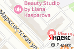 Схема проезда до компании Shugaring-centr в Москве