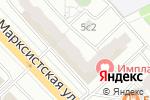 Схема проезда до компании Инфовиза в Москве