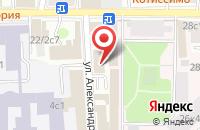 Схема проезда до компании Де Агостини в Москве