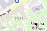 Схема проезда до компании ТеатрЪ в Москве