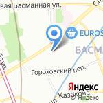 SunDrums на карте Москвы