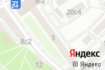 Схема проезда до компании Уральский Союз в Москве