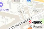 Схема проезда до компании БРАЙТОН в Москве