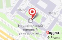 Схема проезда до компании Мифи-Амето в Москве