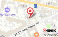 Схема проезда до компании Техаудит в Москве