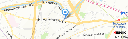 Экстрим-Стиль на карте Москвы
