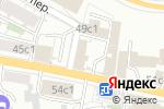Схема проезда до компании Экстрим-Стиль в Москве