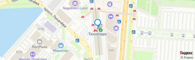метро Технопарк